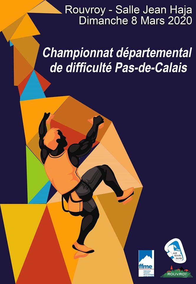 Championnat Departemental de Diff le 8 Mars 2020