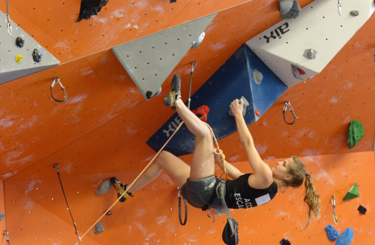 Louise 41eme aux championnats de France jeunes 2020